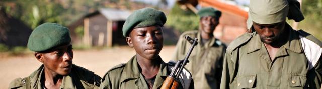 Boy soldiers Congo