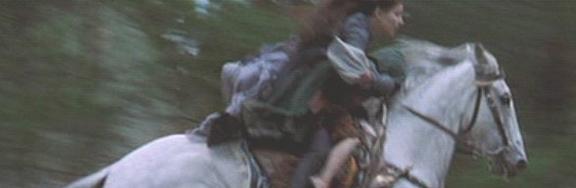 Arwen on horse s