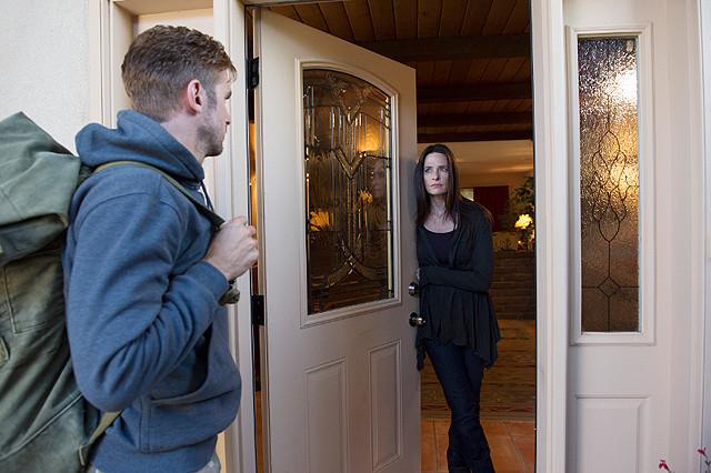 Guest at the door